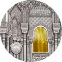 Аверс монеты «Искусство Тиффани - 2015»